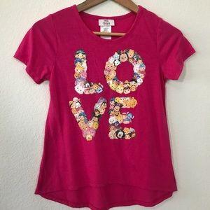 Disney Tsum Tsum Love Shirt sz Large (14)